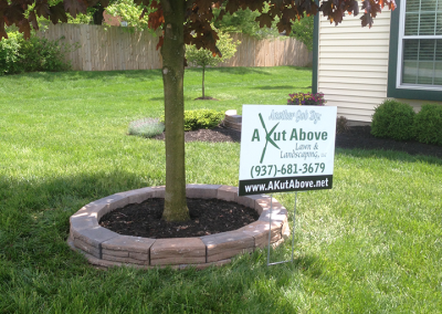 Landscaping by A Kut Above in Beavercreek, Ohio